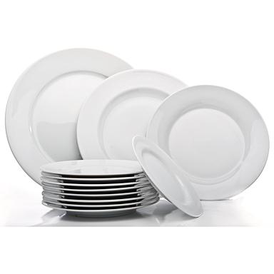 Pristine Ivory Plates