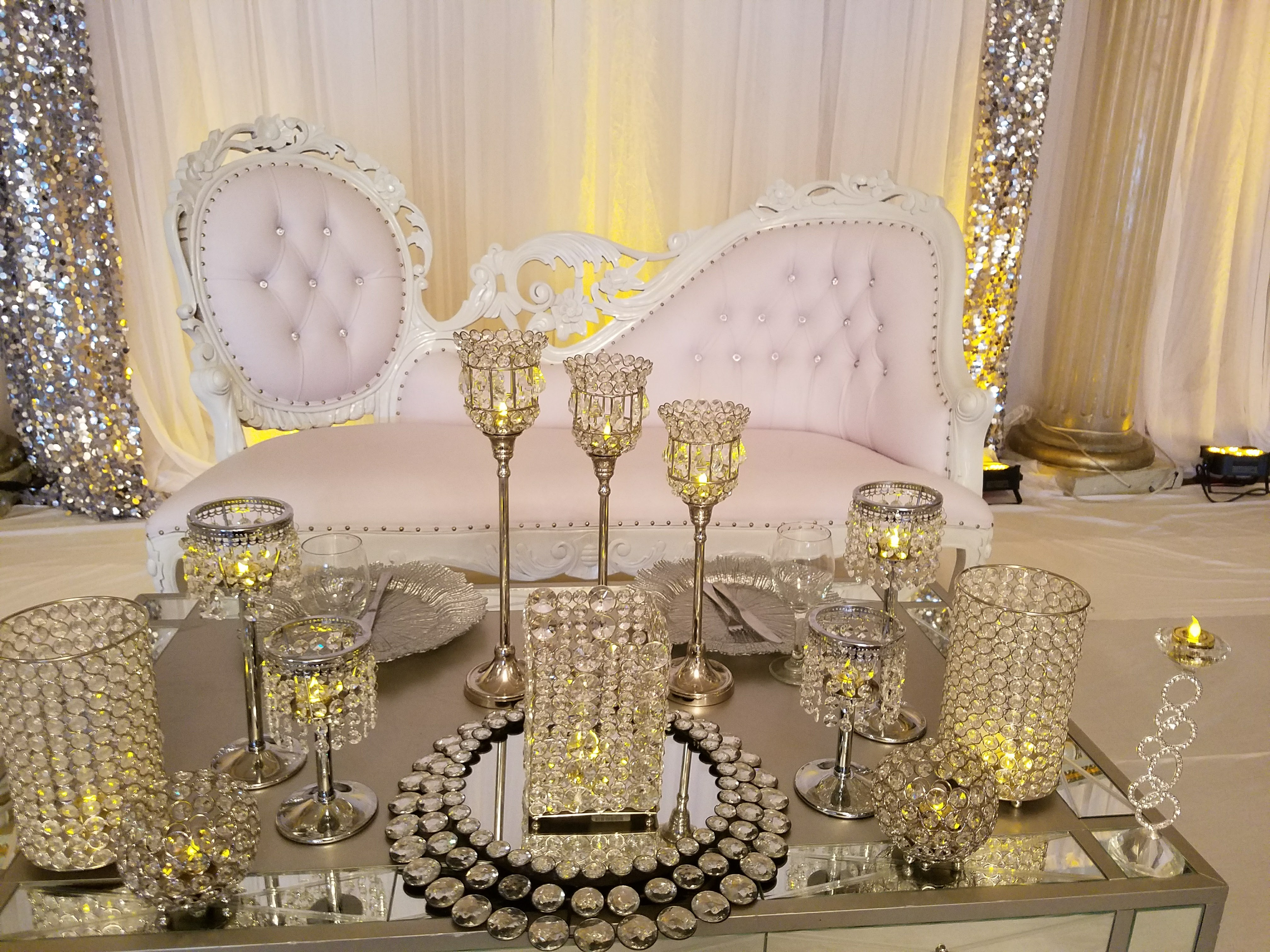 Bride And Groom Chairs Hampton Center Party Rental